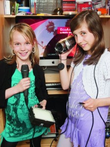 Océane et Alexiane, nos deux jeunes reporters